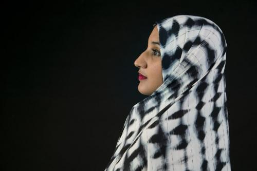 Perfil dona musulmana